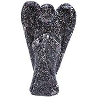 Humunize Glaube heilende Kristall Schöne Edelstein-Wächter Rubin Matrix geschnitzte Engels Stein, Feng Shui Geschenk... preisvergleich bei billige-tabletten.eu