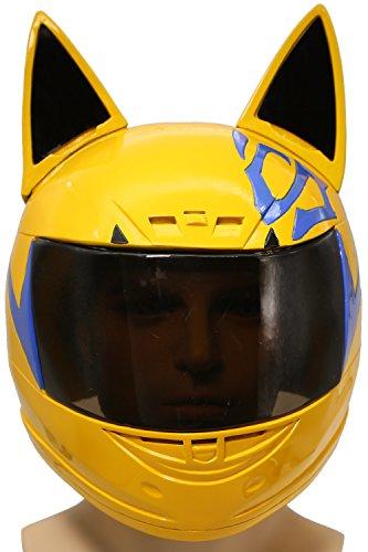 Celty Helm Cosplay Kostüm Harz Voll Kopf Maske Anime Kleidung Manga Merchandise für Halloween Verrückte Kleid Replik (Celty Cosplay Kostüm)