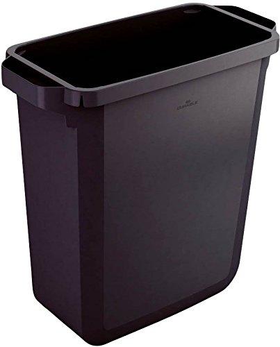 Durable 1800496221 Abfallbehälter Durabin 60 Liter, schwarz