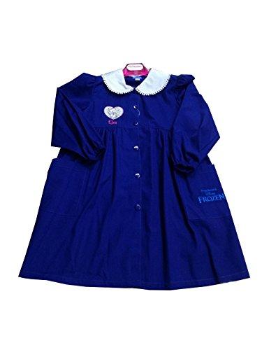 Disney grembiule lungo ragazza scuola elementare frozen elsa bambina (art. s952006s) (85-10 anni)