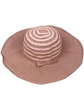 Verano Protector Solar Plegable De Ala Ancha Playa Sombrero De Sol