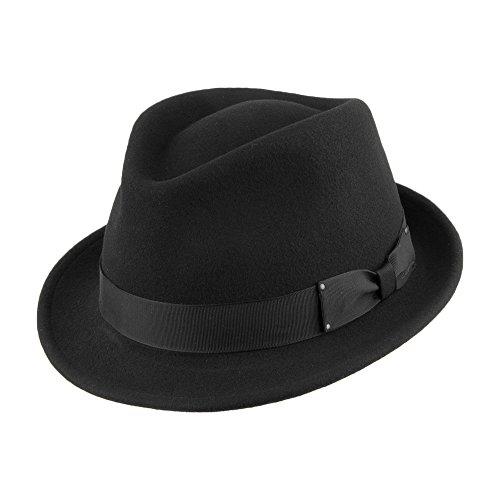 Bailey Chapeau Trilby Déformable Wynn II Noir