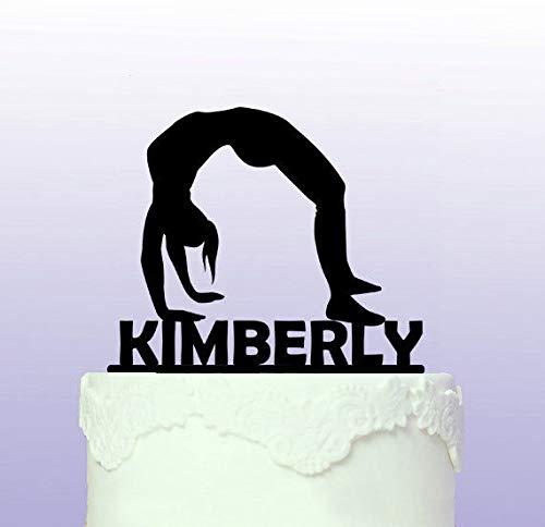 Personalisierbare Gymnastik-Kuchenaufsatz, Gymnastik