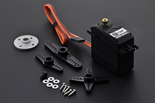 DFRobot DF Metal Geared 15Kg Standard Servo 180¡ã (DSS-M15) - DIY Maker Open Source BOOOLE - Heavy Duty Servo,