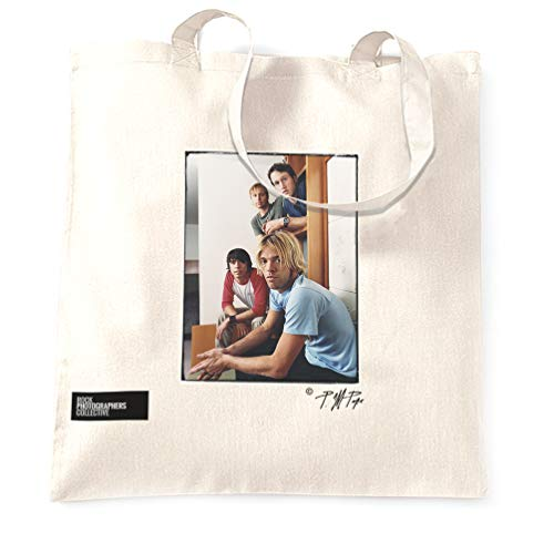 Rock Photographers Collective Foo Fighters Stofftaschen - Weiß/One Size -