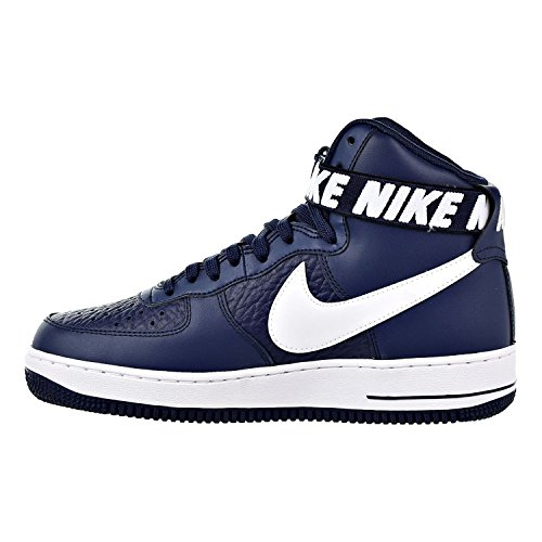 "brand new 58169 7ea61 Nike Air Force One AF1 High '07 NBA Edition ""College Navy"" Retro ..."