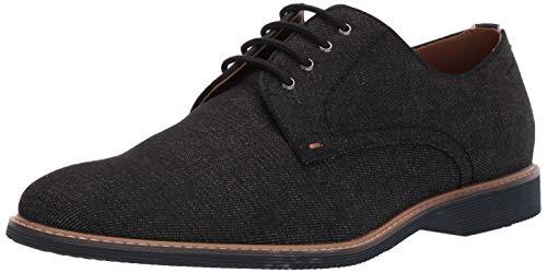 896943a91cb92 Steve Madden Men's Nevins Oxford, Black Fabric, ...