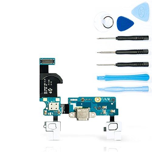 teparto USB Ladebuchse für Samsung Galaxy S5 mini - SM-G800F mit Werkzeugset