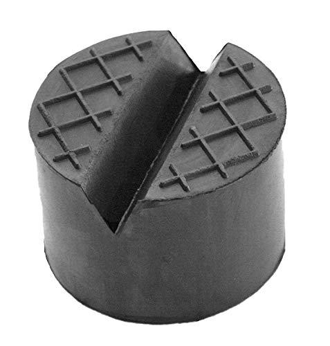 100x50mm mit V-Nut & Waffel Gummiauflage für Wagenheber und Hebebühnen
