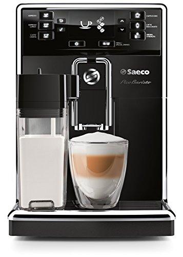 Saeco HD8925/01 Máquina espresso 1.8L Negro, Acero inoxidable - Cafetera (Independiente, Máquina espresso, Negro, Acero inoxidable, Botones, Taza, Totalmente automática)