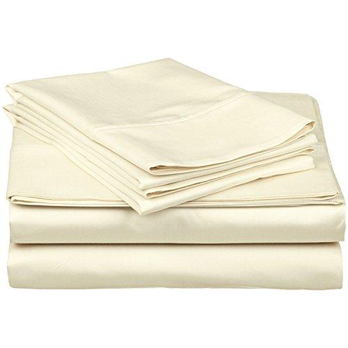 Superior - Juego de sábanas 183 x 213 cm, de algodón de...