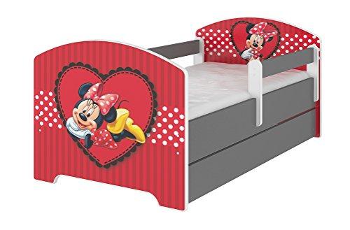 Original Disney's Kinderbett mit Rausfallschutz und Matratze