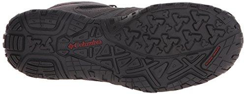 Homme Hautes Gypsy Mid Chaussures De Redmond Noir Randonnée Columbia B8BXT7v