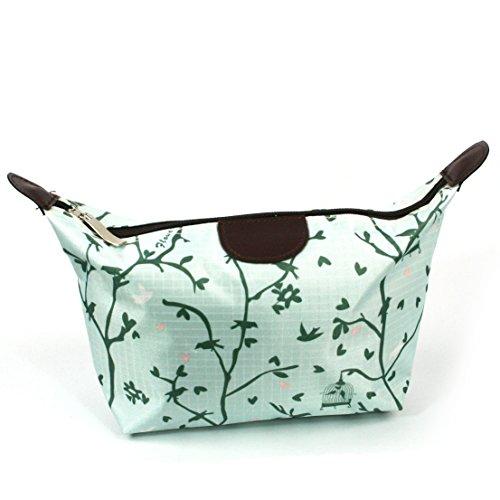 Birds Design Print Leicht Urlaub/Wochenende Wash Bag/Make-up Bag/Compact WC (Bag Wochenende Wash)