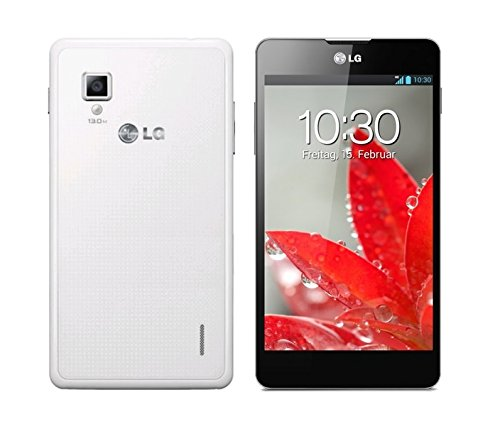 LG Optimus G White Weiss E975 WIFI LTE 32GB 2GB RAM 13MP Kamera Android Smartphone Ohne Simlock (Optimus Lg G Android)