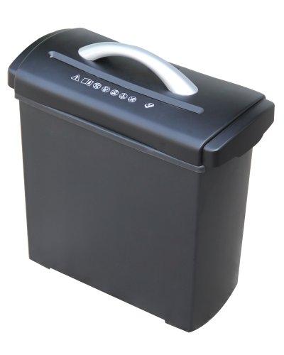 Genie C-160X Aufsatz-Aktenvernichter (bis zu 6 Blatt, Partikelschnitt, Inkl. Papierkorb) schwarz