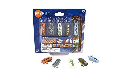 Nano V2 Hexbug (HEXBUG 415-4574 Nano Nitro 5-pack, Spiel)