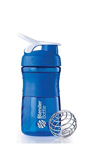 BlenderBottle Sportmixer - Botella de agua y mezcladora, 590ml (1 x 590ml),...