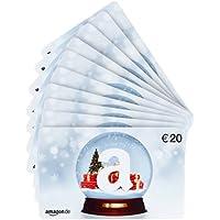Amazon.de Geschenkgutschein im Multi-Pack - 10 Gutscheine - mit kostenloser Lieferung am nächsten Tag