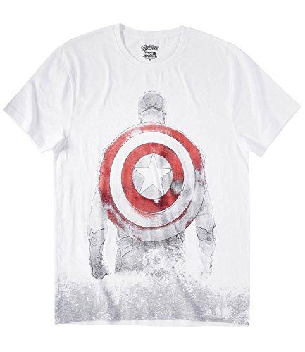 Avengers Assemble Herren Tshirt Weiß