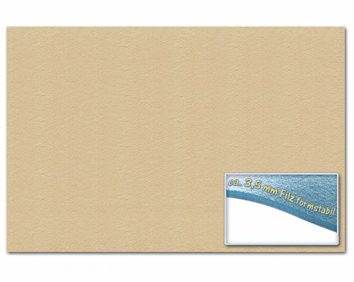 folia 510342 – Bastelfilz 30 x 45 cm, ca. 3,5 mm, 1 Bogen, haut
