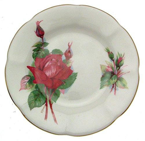 Royal Standard Roslyn Wheatcroft Roses 6,25 Zoll) großen Gala-Platte Wheatcroft Rosen