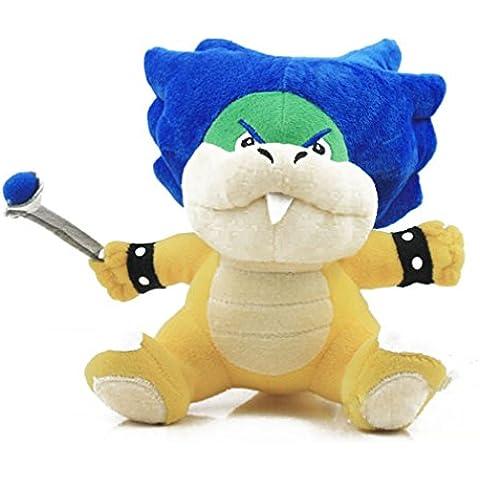 6 pollici Super Mario Bros bowser Koopalings Ludwig Koopa peluche bambola