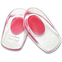 ULTNICE Gel Fersenkissen ein Paar Silikon Schuheinlagen Hilfe zum Fußpflege(rot) preisvergleich bei billige-tabletten.eu