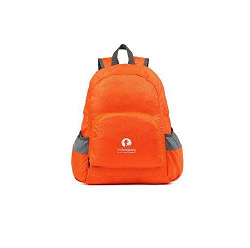 Wmshpeds Borsa di pelle la moda casual borsa a tracolla Borsa pieghevole borsa da viaggio ultra-light in borsa A
