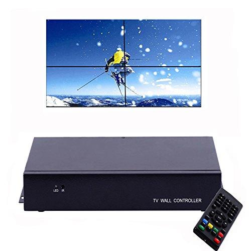 Video Wall Prozessor TV LCD Monitor Wandhalterung Controller Multi-Eingang HDMI optischen Bildschirm Segmentierung und Zusammenbau 2 x 2, 1 x 2, 1 x 3, 1 x 4