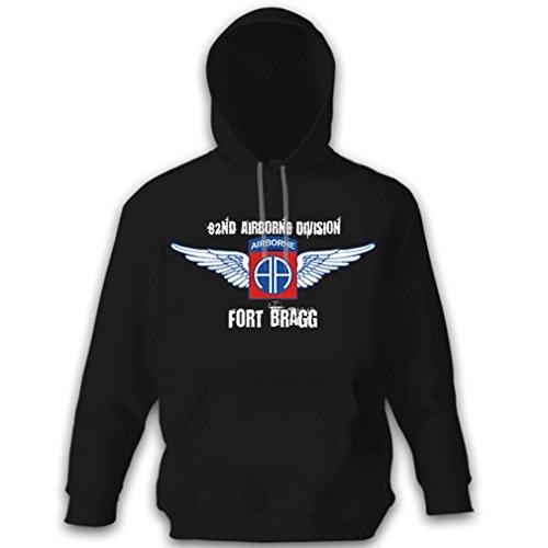 82nd Airborne Division US United States Army America Amerika Vereinigte Staaten Luftlande Division Abzeichen - Kapuzenpullover Pullover Hoodie XL #8752 (82nd T-shirt Division Airborne)