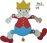 Anni-spielen macht glücklich Hampelmann König