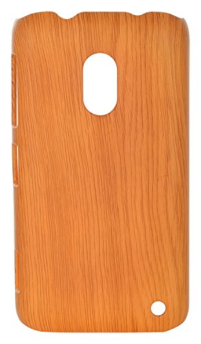 iCandy™ Plastic Hard Back Cover For Nokia Lumia 620 - Wooden  available at amazon for Rs.165