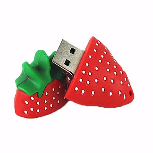 Eliteguard Flash Memory Drive USB Stick 8GB Rot Erdbeere Lustige Frucht …