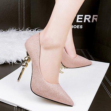 Moda Donna Sandali Sexy donna tacchi Primavera / Estate / Autunno / Inverno Comfort Casual Stiletto Heel cordone nero / rosa / rosso / grigio a piedi gray