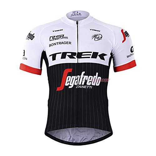 STRGAO Herren Fahrrad Trikot MTB Fahrradbekleidung Fahrradtrikot Radsport Kurzarmtrikot Radfahren Cycling Jersey Größe 4XL