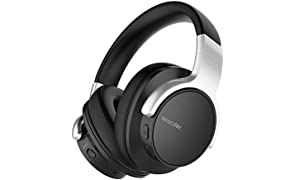 Mixcder E7 Cuffie Noise Cancelling, Cuffie Bluetooth 5.0, Cuffie Over Ear Ricarica Rapida, Auricolare Wireless Adatto per Telefono Cellulare/PC/TV