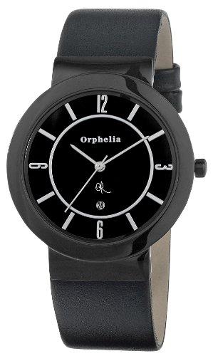 Orphelia OR22670544 - Reloj de pulsera hombre, piel, color negro