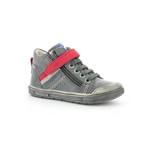 Aster, Unisex-Kinder Sneaker Grau