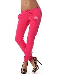 Jela London - Pantalon de sport - Relaxed - Uni - Femme