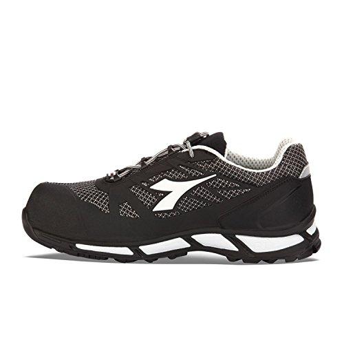 Diadora D-Trail Bright Low S1p Sra Hro, Chaussures de Sécurité Homme Noir - Nero (80013 Nero)