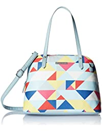 Caprese Women's Satchel (Pale Blue)