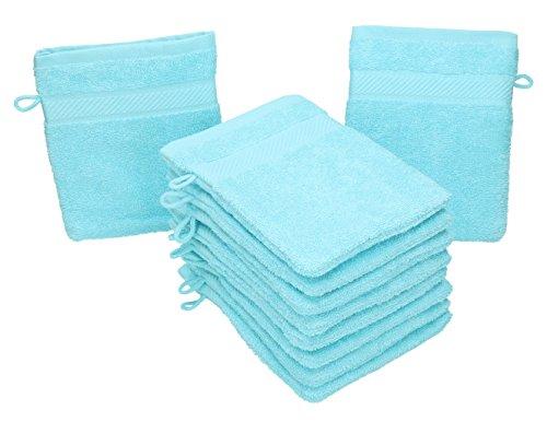 Betz Paquete 10 Manoplas baño Palermo 100% algodón