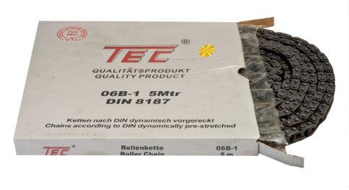 1 Bund (=5m) TEC Rollenkette 06B-1 (3/8 x 7/32'') DIN8187 [Grundpreis: 3,20EUR/m]