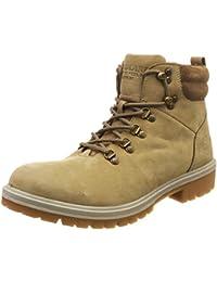 Woodland Men's Gb 2659117rt_Khaki_11 Leather Boots-11 UK (45 EU) (12 US)