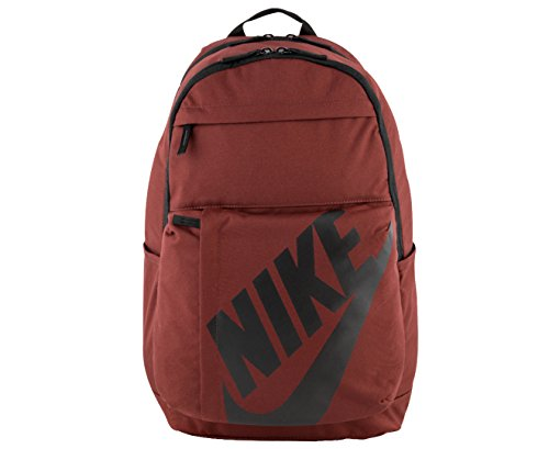 nike NK Elmntl Bkpk Mochila, Unisex Adulto, Rojo / (Dark Team Red / Black), MISC