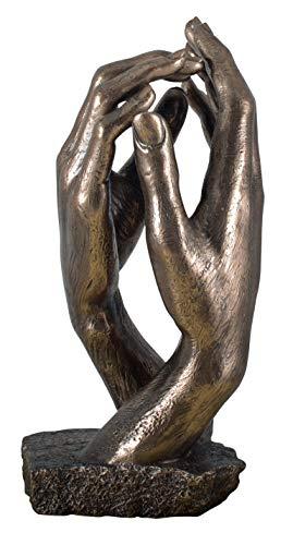 15 cm Avenuelafayette Figura de El Beso de Rodin