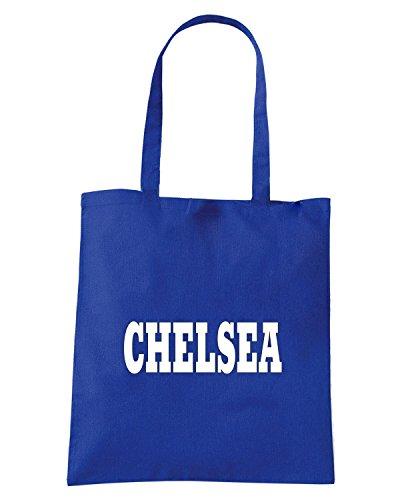 T-Shirtshock - Borsa Shopping WC0705 CHELSEA Blu Royal