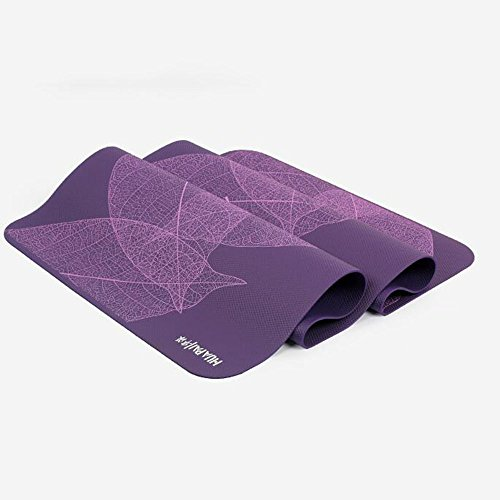 Allongement élargissement Pad anti-dérapant Mat Mat MatSports Yoga Blanket (8mm 6mm d'épaisseur) (4 couleurs en option)
