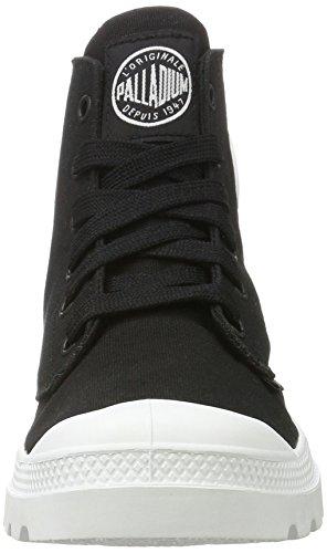 Palladium Unisex-Erwachsene Blanc Hi Sneaker Schwarz (Black/White/White)
